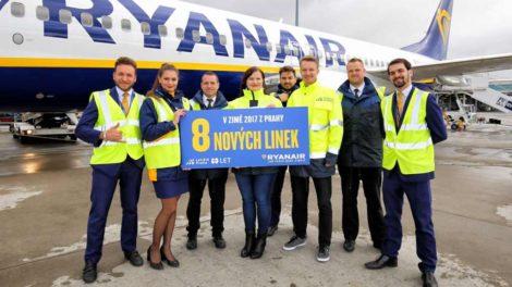 Od zimního letového řádu nabízí Ryanair z Prahy osm nových linek. Foto: Letiště Praha