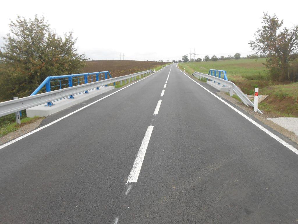 Silnice II/432 po opravě. Autor: Swietelsky