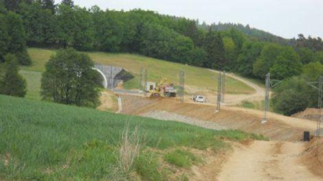 Čtvrtý koridor se zhusta staví v nové stopě. Ilustrační foto. Autor: SŽDC