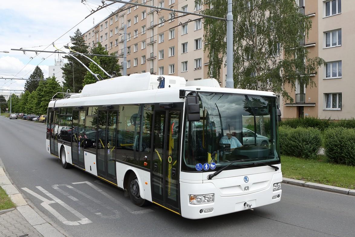 Trolejbus 30Tr. Autor: Škoda Electric