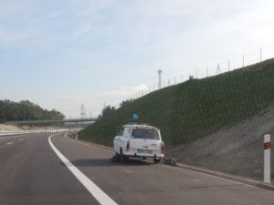 Dálnice D3 u Českých Budějovic.  Autor: Zdopravy.cz/Jan Šindelář