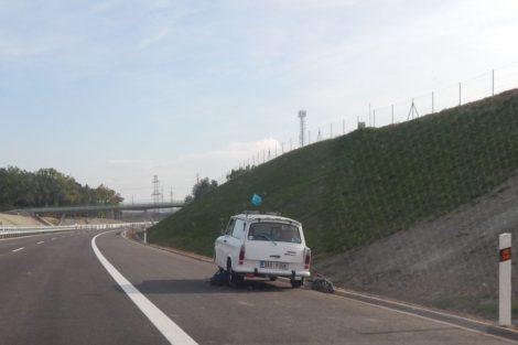 Některým motoristům dálnice štěstí nepřinesla. Autor: Zdopravy.cz/Jan Šindelář