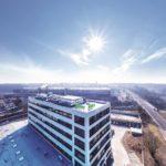 Hlavní budova vývojového centra společnosti Valeo v Praze - Hostivaři. Foto: Valeo