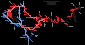 Plán na zrychlení vlaků Praha - Liberec, stále s úvratí v Turnově.