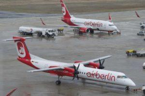 Dash DHC8 Q-400 v barvách Air Berlin. Foto: Wikimedia Commons