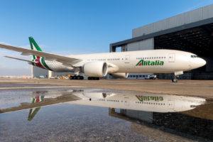 Boeing 777 společnosti Alitalia. Foto: Alitalia