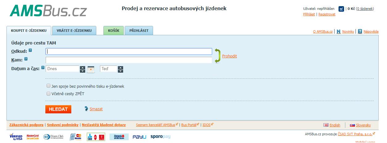 České dráhy získaly akvizicí společnosti Chaps kontrolu nad rezervačním portálem AMSBUS