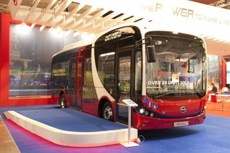 Elektrobus BYD 12M, foto: Zdopravy.cz/Josef Petrák