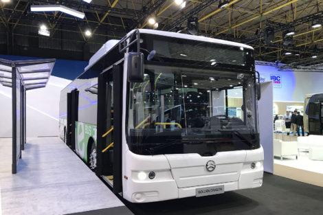 Elektrobus Golden Dragon na veletrhu Busworld, foto: Zdopravy.cz/Josef Petrák