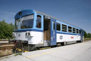Motorový vůz 810, foto: České dráhy