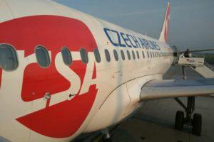 Airbus A319 ČSA. Foto: Jan Sůra