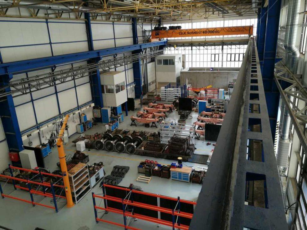 CZ Loko dokončila úpravu staré výrobní haly na novou podvozkárnu. Foto: CZ Loko