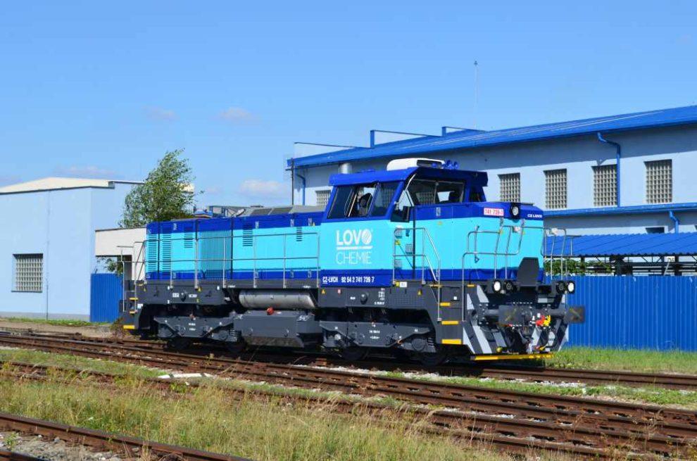 Nová lokomotiva 741.7 pro Lovochemii od CZ Loko. Foto: CZ Loko
