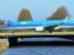 Boeing 737 společnosti KLM v Amsterdamu. Foto: Jan Sůra