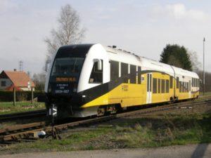Jednotka PESASA 134, která má zajišťovat provoz vlaků mezi Adšpachem a Polskem. Foto: GW Train Regio