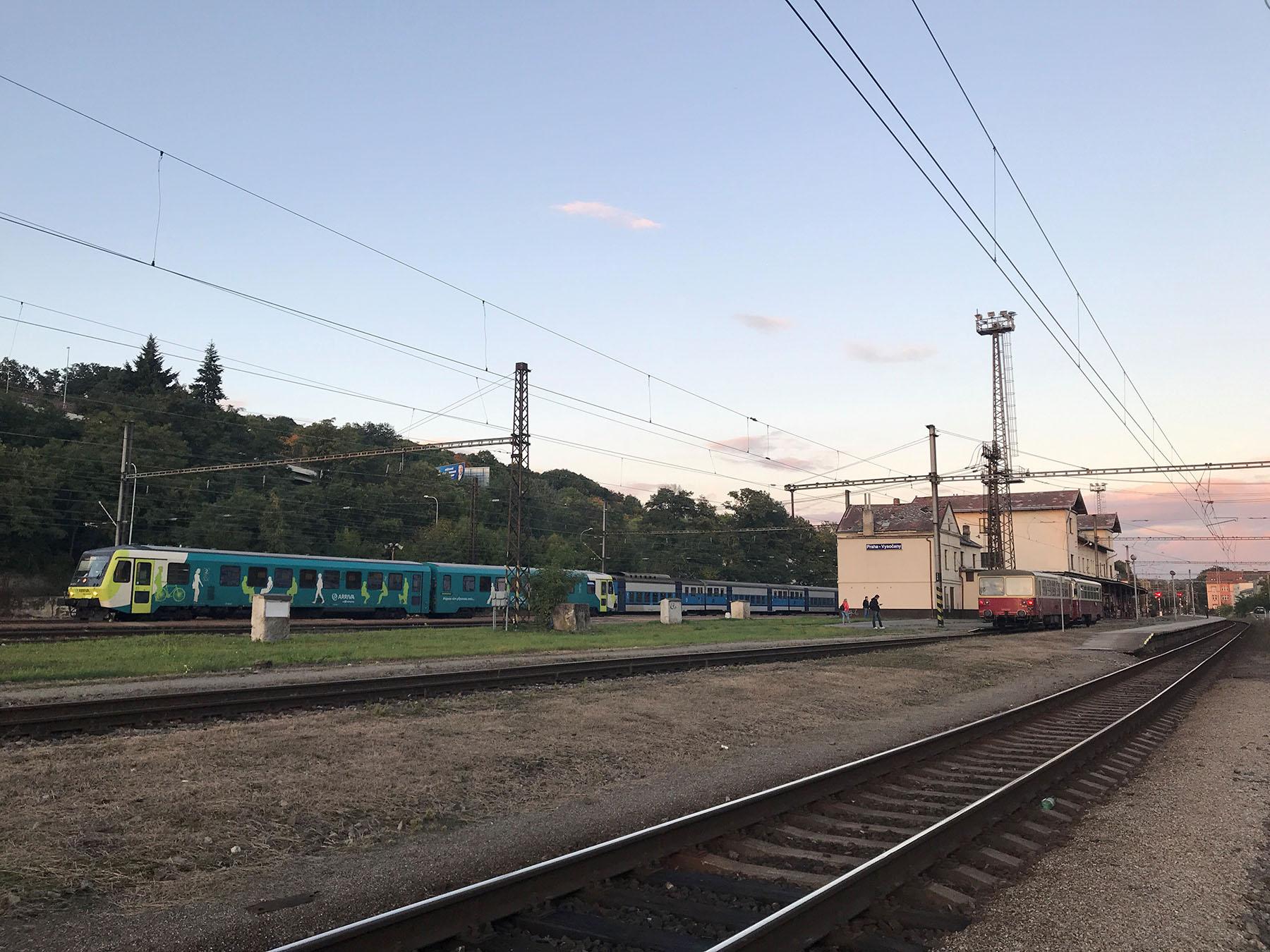 Nádraží Praha-Vysočany, foto: Zdopravy.cz/Josef Petrák