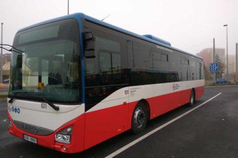 Nové autobusy Iveco Crossway dopravce Exprescar Kladno. Foto: Jan Sůra