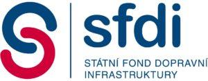 Logo Státního fondu dopravní infrastruktury. Foto. SFDI