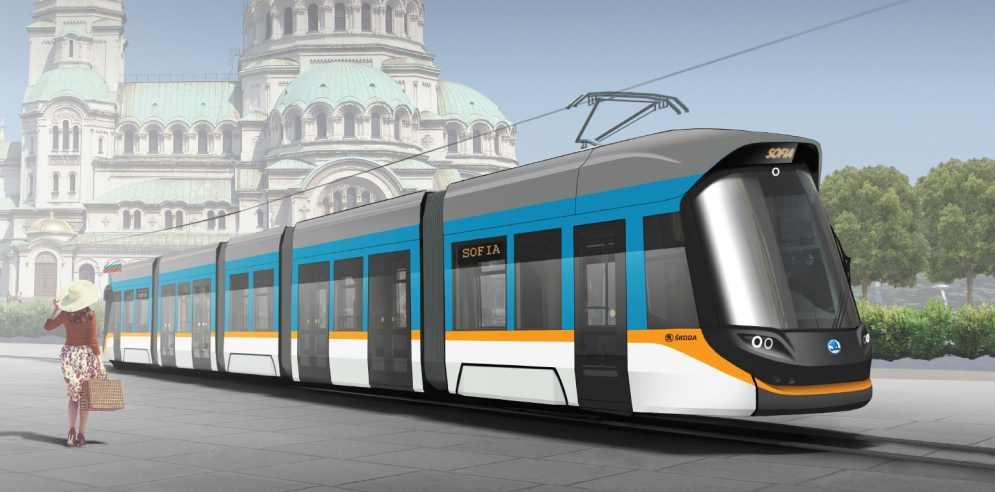Vizualizace nové tramvaje Škoda pro Sofii. Foto: Škoda Transportation
