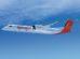 Bombardier Q400 pro SpiceJet. Foto: Bombardier