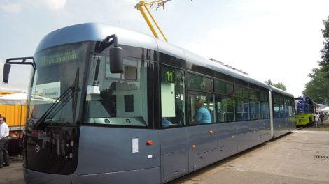 Tramvaj EVO2. Foto: Radim Holiš, Wikimedia Commons