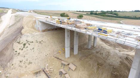 Výstavba dálnice A5 v Rakousku. Autor: ASFINAG