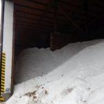 Posypová sůl ve skladu. Ilustrační foto. Autor: Zdopravy.cz/Jan Šindelář