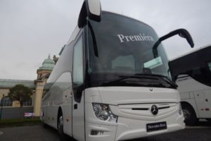 Mercedes ve venkovní expozici. Autor: Zdopravy.cz/Jan Šindelář