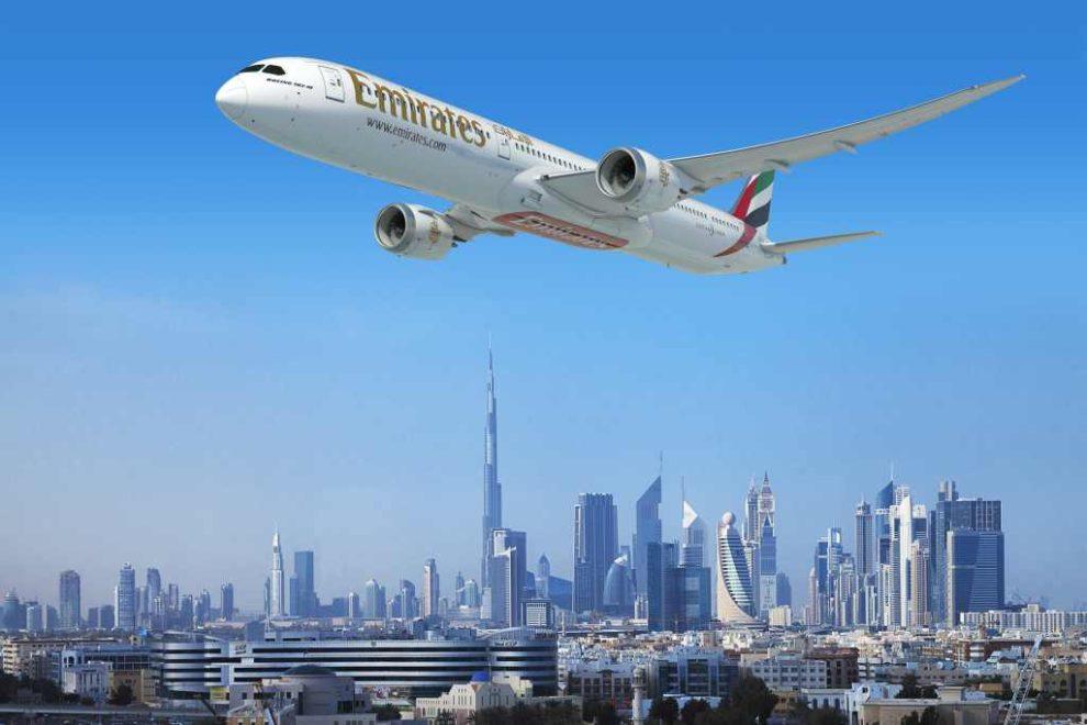 Boeing 787-10 v barvách Emirates. Foto: Emirates