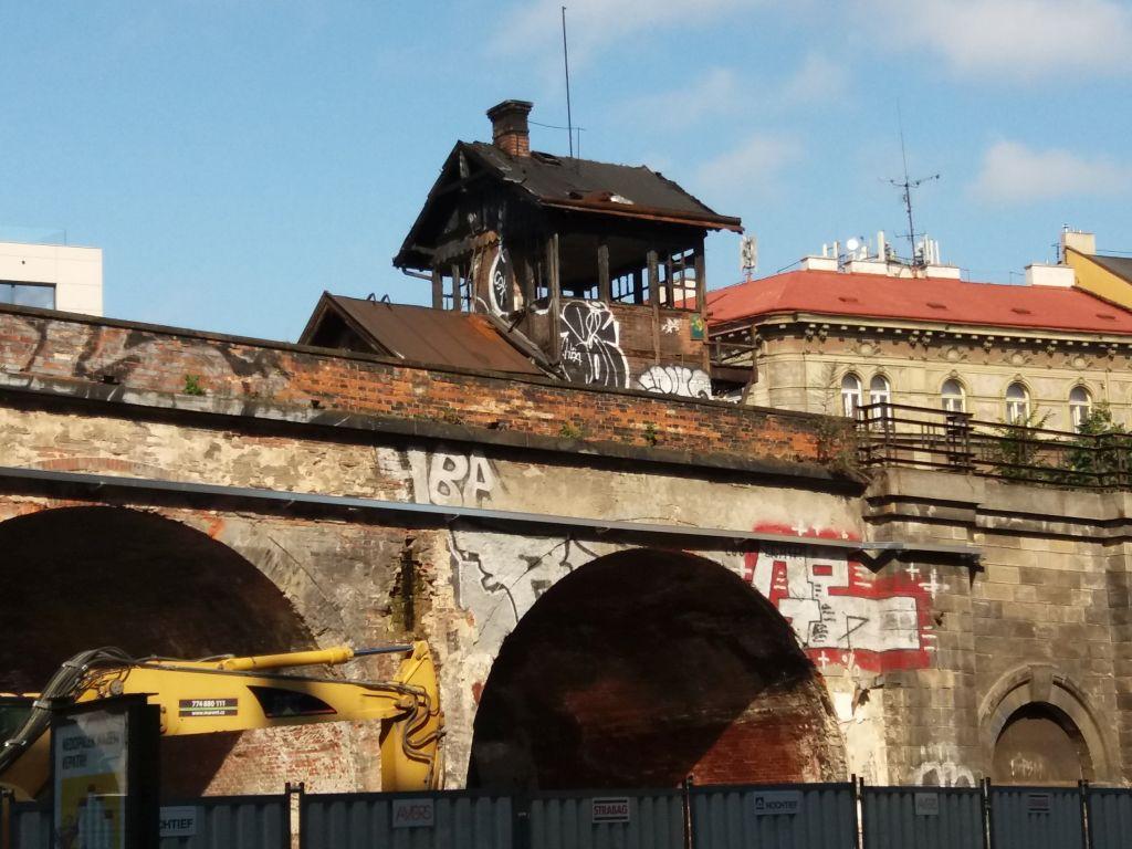 Negrelliho viadukt v rekonstrukci. Autor: Zdopravy.cz/Jan Šindelář