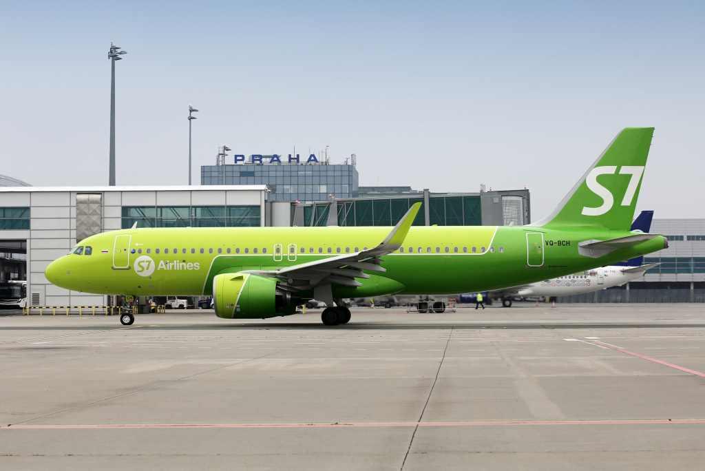 A320neo společnost S7 Airlines. Foto: Letiště Praha