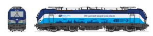 Vizualizace podoby lokomotivy Siemens Vectron v barvách Českých drah. Foto: ČD