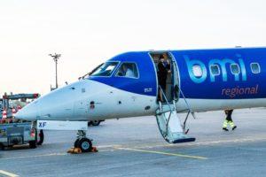 bmi Regional létala do Brna s letadlem Embraer E-145. Foto: bmi Regional