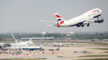 Boeing 747-400 British Airways při odletu z Londýna. Foto: British Airways