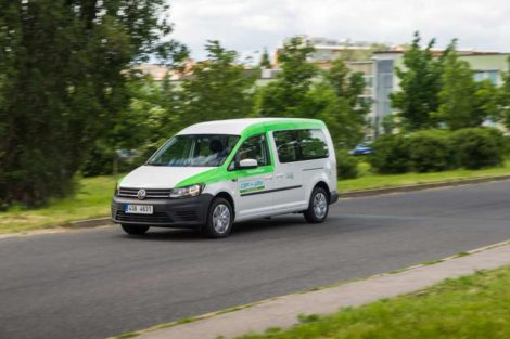 Volkswagen Caddy ve flotile Car4Way: Foto: Car4Way