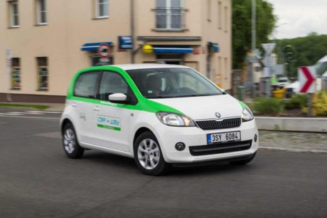Škoda Citigo ve flotile Car4Way: Foto: Car4Way