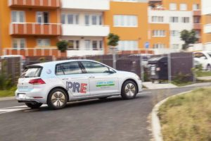 Volkwagen e-Golf ve flotile Car4Way: Foto: Car4Way