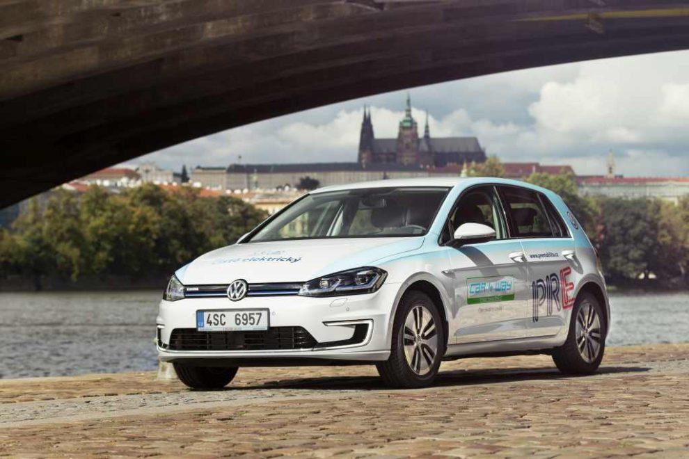Volksagen e-Golf ve flotile Car4Way. Foto: Car4Way