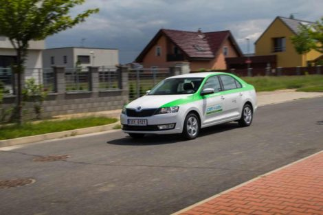 Škoda Rapid ve flotile Car4Way: Foto: Car4Way