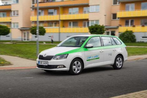 Škoda Fabia Combi ve flotile Car4Way: Foto: Car4Way