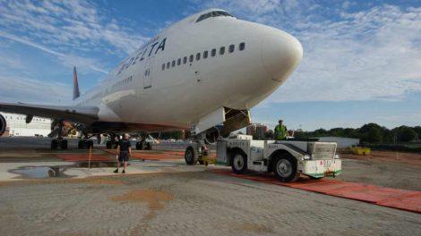 Jeden ze strojů Boeing 747-400 skončil v muzeu Delty v Atlantě. Foto: Delta Air Lines