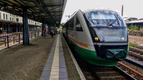 Siemens Desiro společnosti Länderbahn v Žitavě. Foto: Jan Sůra