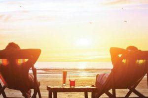 Dovolená na pláži. Foto: CK Fischer