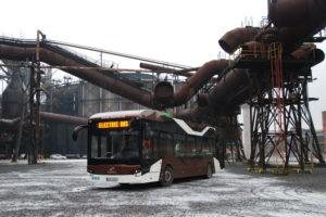 Elektrobus Ekova Electron. Foto: Ekova