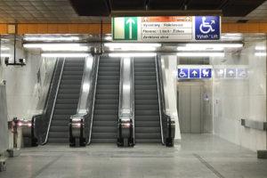 Nové eskalátory a výtah ve stanici metra Palmovka, foto: Zdopravy.cz/Josef Petrák