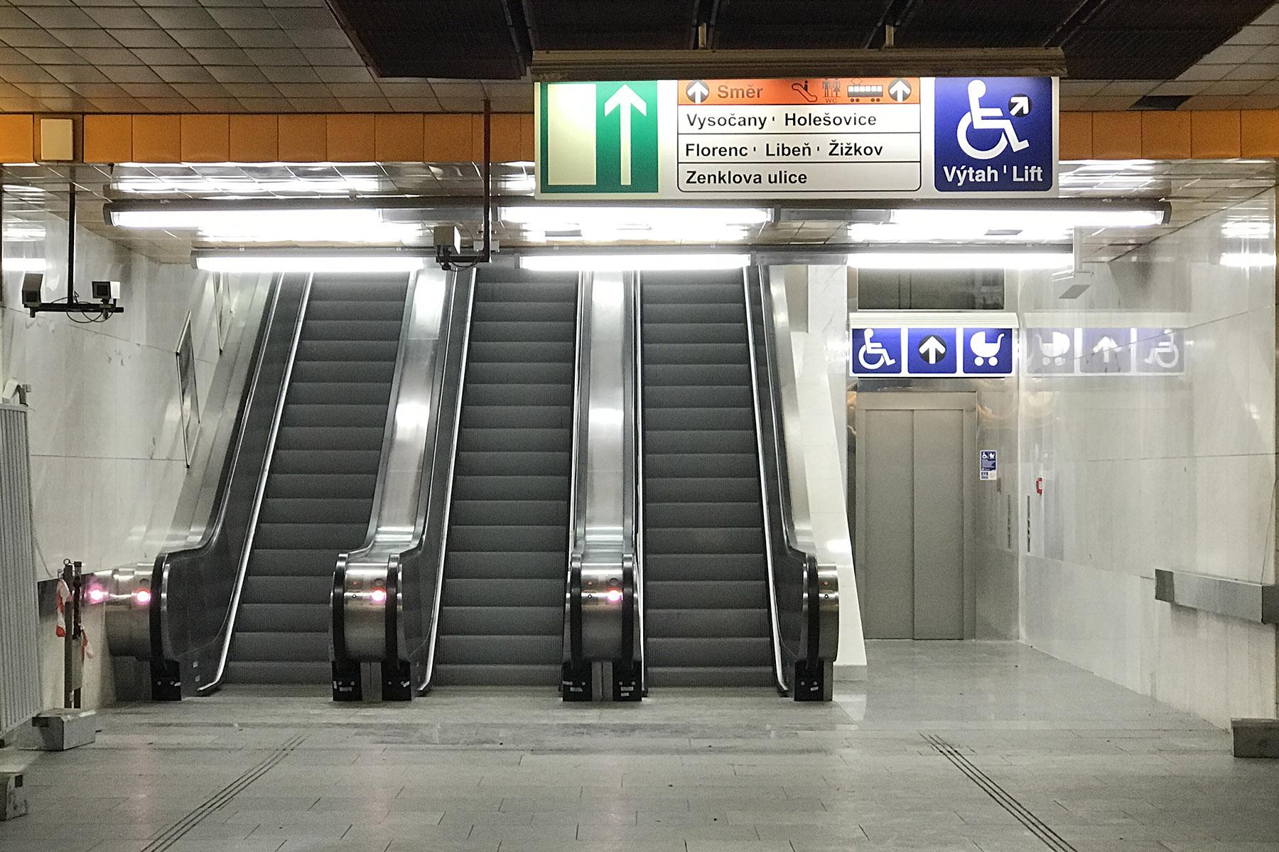 Stanice metra Palmovka, foto: Zdopravy.cz/Josef Petrák