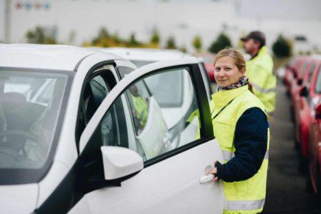 Automobilky využívající areál Gefco v Kolíně se liší tím, jaký program péče o dlouhodobě skladovaná vozidla uplatňují. Foto: Gefco
