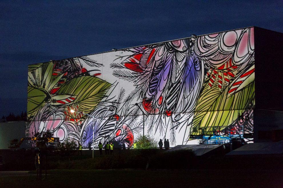 Mural art - CTPark Humpolec. Autor: DRAWetc.