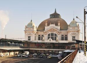 Hlavní nádraží v Plzni. Pramen: Správa železnic