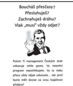 Sporný plakát břeclavských strojvedoucích. Původně nebyl rozostřen. Zdroj: Zájmy strojvůdce